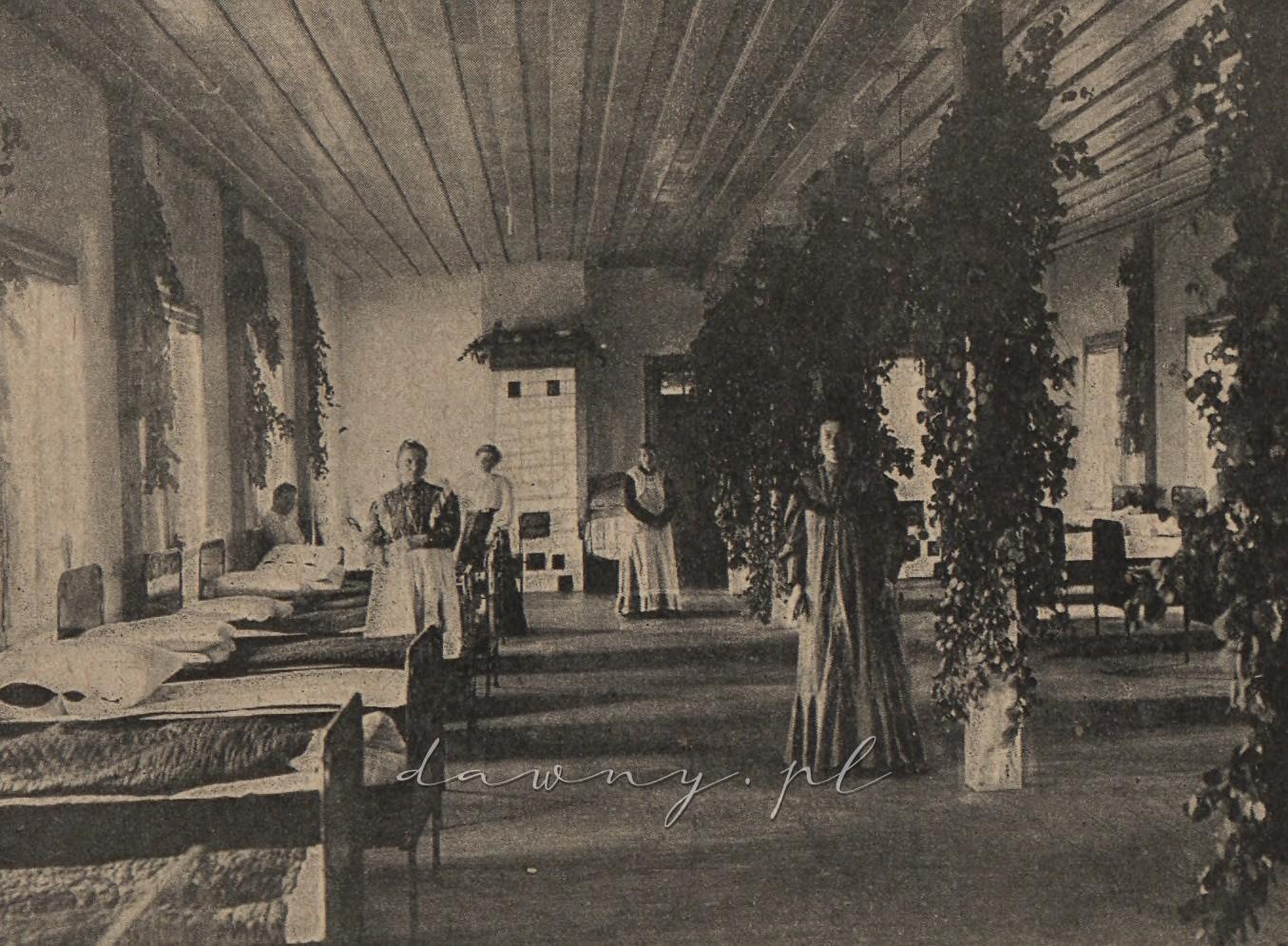 Jedna z sal oddziału kobiecego