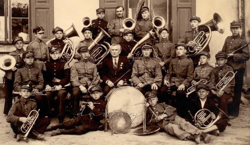 orkiestra OSP i Franciszek Wodiczko