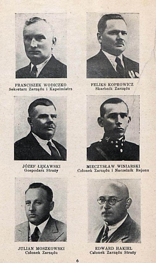 jednodniówka OSP - 1938
