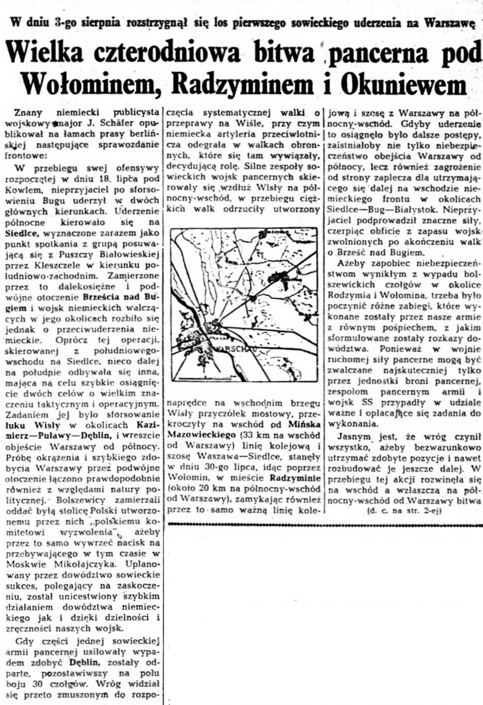 Gazeta Ilustrowana. R.5, nr 35 (27 sierpnia 1944) nr 243 a
