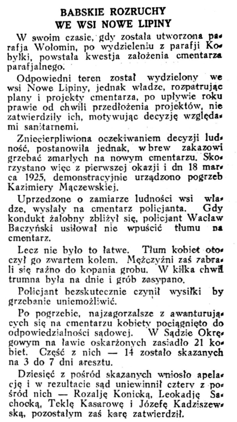 Rzeczpospolita nr 45, (14 lutego 1927)