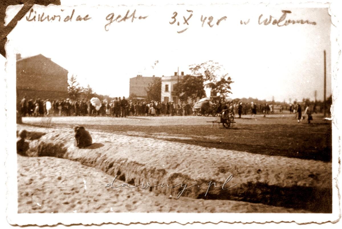 Likwidacja getta w Wołominie
