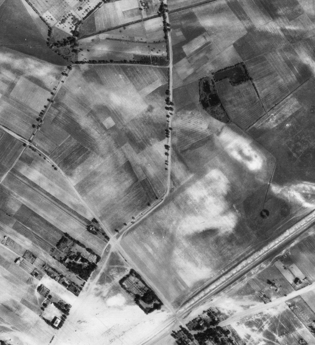 Rok 1947 - teren późniejszych Zakładów Stolarki Budowlanej.
