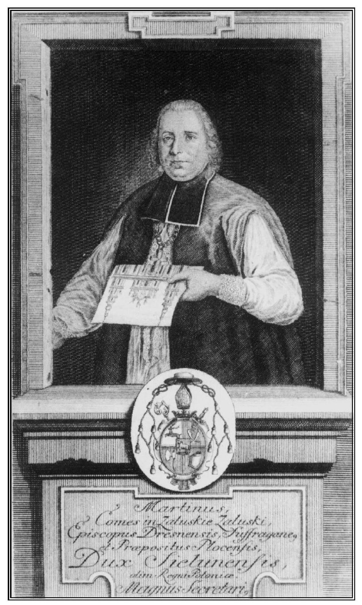Biskup Marcin Załuski