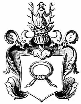 Rysunek 6. Wizerunek herbu Nałęcz w herbarzu Niesieckiego [27].