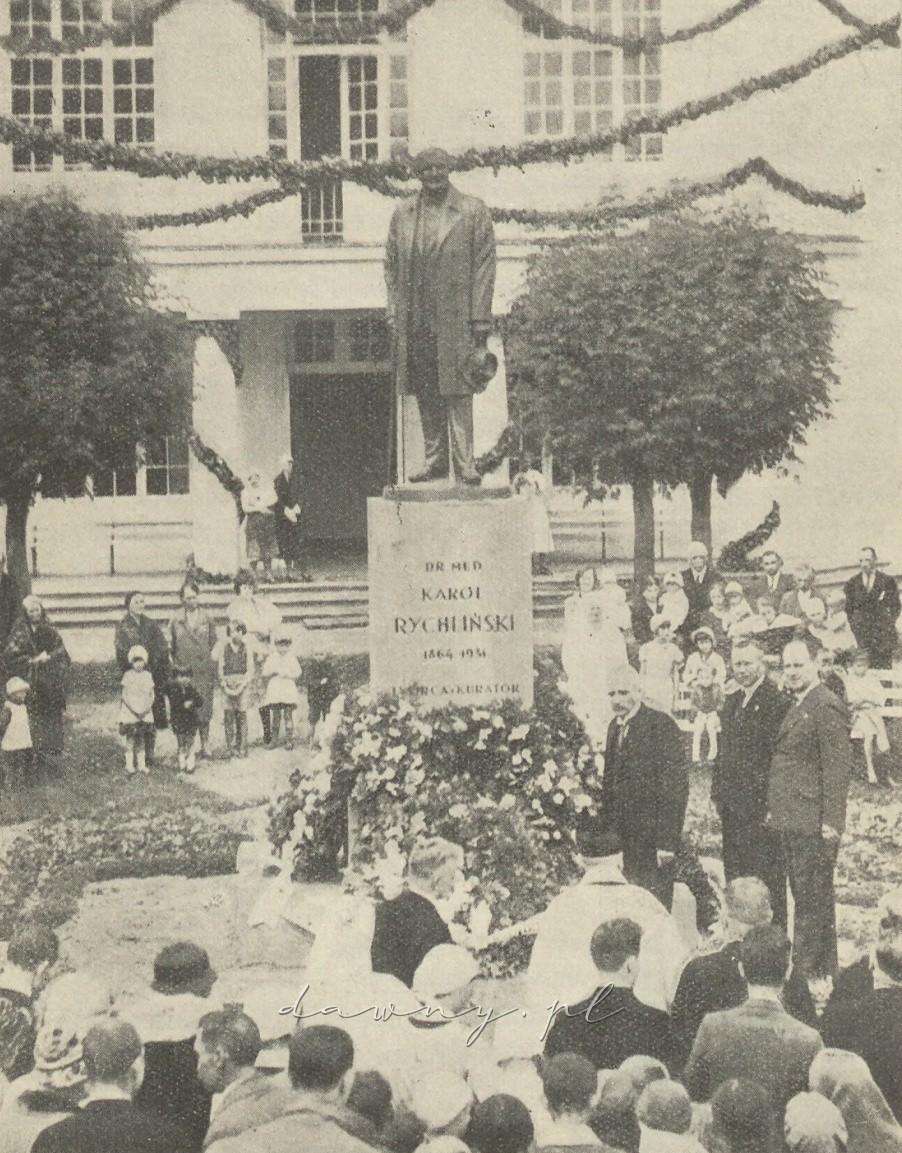 Pomnik ś. p. D-ra Karola Rychlińskiego