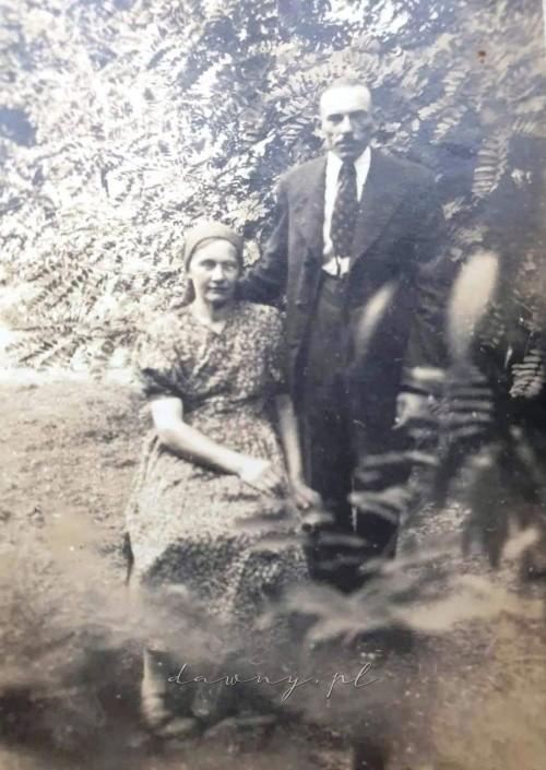Jan Radzki z córką Stanisławą