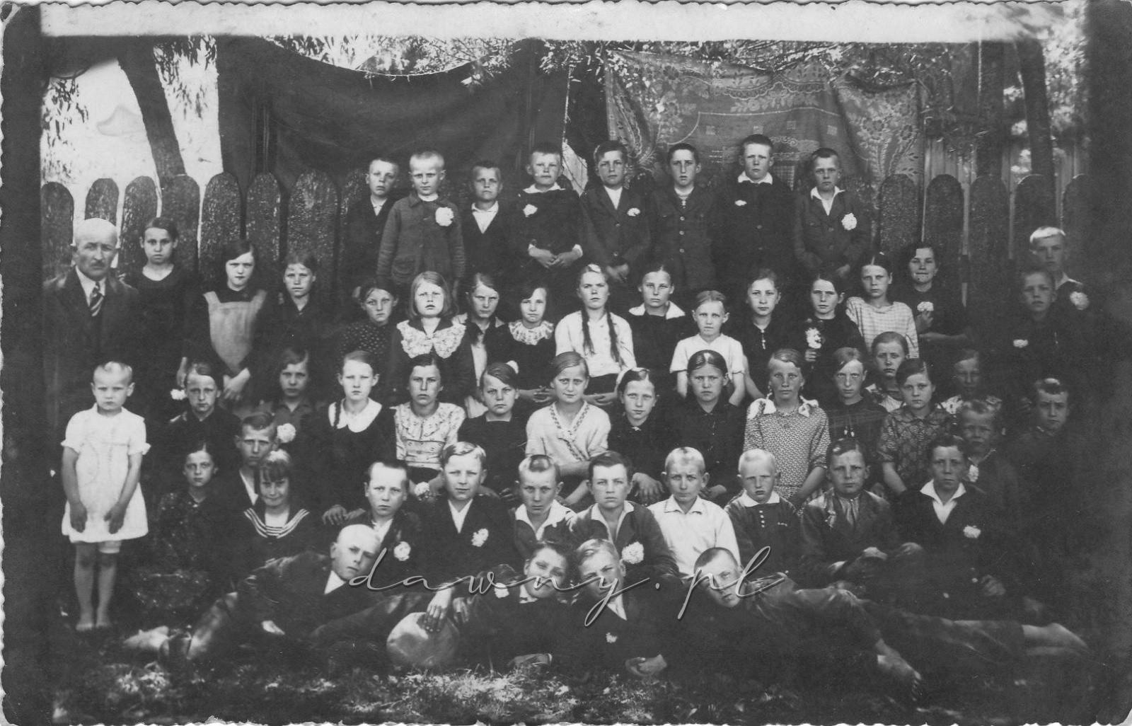 1938 rok - szkoła w Tule