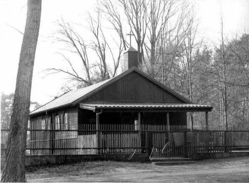 Kaplica przy ul. Tramwajowej, 2002 r.