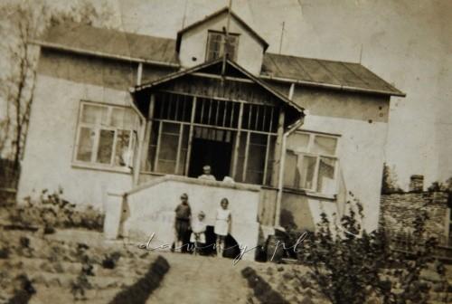 Dom od strony werandy