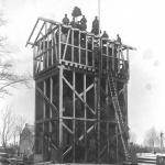 Wieża ciśnień w Tłuszczu - rok 1915