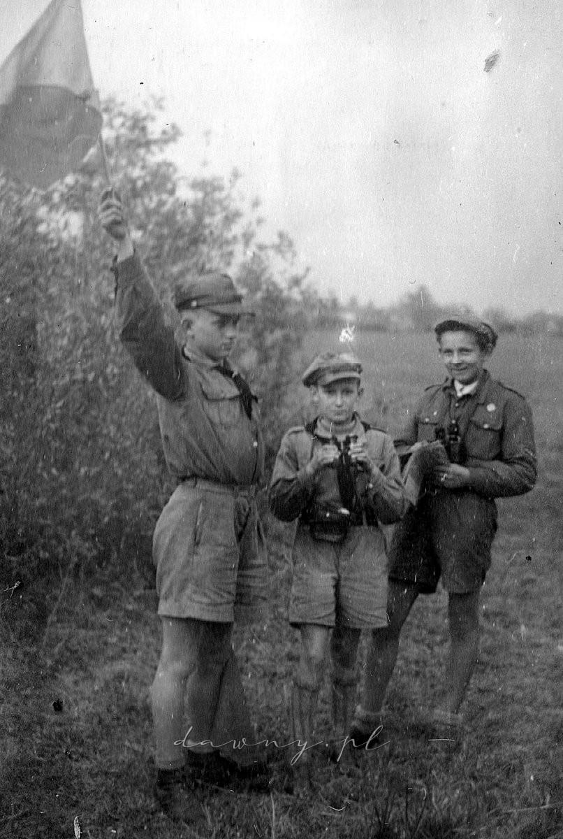 """Patrol sygnalizacyjny """"Orłów"""", 1947"""