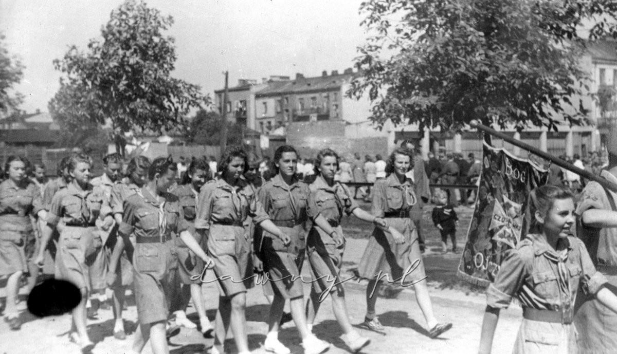 Defilada Drużyny Żeńskiej, 19472