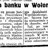 Afera banku w Wołominie