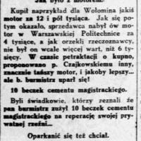 O burmistrzu miasta Wołomina