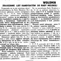 Wybory samorządowe 1929
