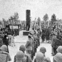 Odsłonięcia pomnika ku czci ks. Ignacego Skorupki