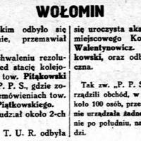 1 maja 1929