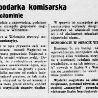 Gospodarka komisarska w Wołominie