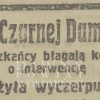 Aresztowanie Czarnej Damy w Wołominie