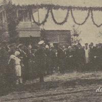 Uroczystość poświęcenia Domu Ludowego w Starowoli