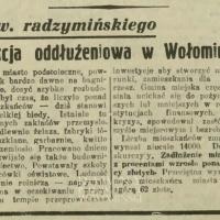 Akcja oddłużeniowa w Wołominie