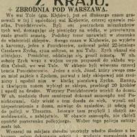 Zbrodnia pod Warszawą