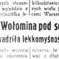 Magistrat Wołomina pod sekwestrem