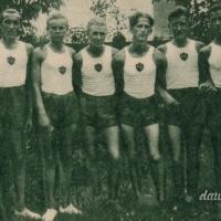 Drużyna siatkówki Ogniska KPW Wołomin