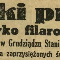 Wielki proces przeciwko filarowi ZNP, b. kierownikowi szkoły w Grudziądzu Stanisławowi Wieczyńskiemu